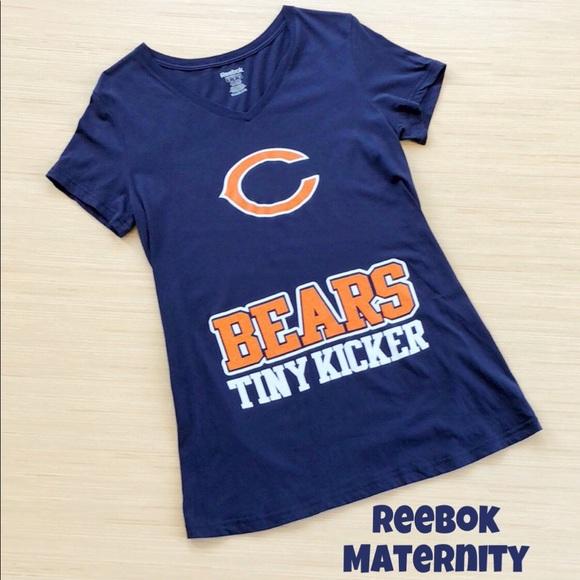 78684f6e Reebok Maternity Tops   Chicago Bears Tshirt Size Medium   Poshmark